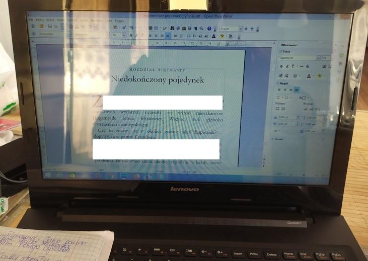 """Na tym laptopie powstaje """"Deponent Założycieli"""""""